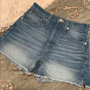 Madewell Jean Shorts Size 23